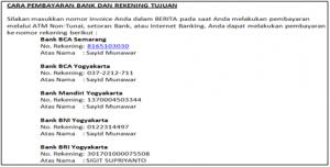 Dedy Akas 2 Panduan Cara Konfirmasi Pembayaran Domain Baru di IDwebhost