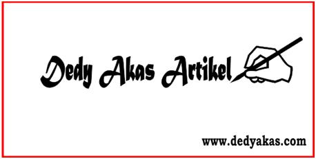 Artikel Dedy Akas Website