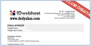 Dedy Akas 17 Panduan Cara Daftar Hosting Baru di IDwebhost