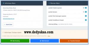 Dedy Akas 5 Panduan Cara Daftar Hosting Baru di IDwebhost