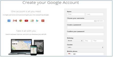 Dedy Akas Website Cara Mendaftar di Gmail