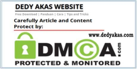 Dedy Akas Website Protected by DMCA