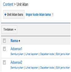 Dedy Akas Website - Harap Buat Unit Iklan Pertama