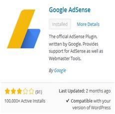 Akhirnya Saya Pakai Plugin Google AdSense