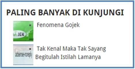 Artikel Fenomena Gojek Urutan Paling Atas - Dedy Akas Website