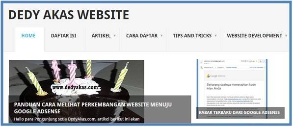 Tips and Tricks Mengembangkan Blog atau Website | Dedy Akas Website