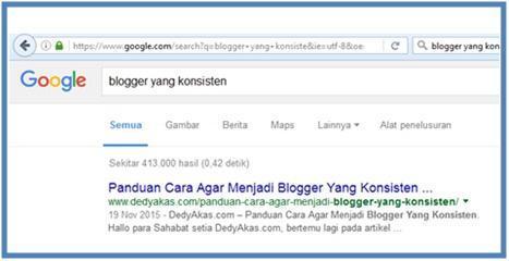 Beberapa Point Agar Ngeblog Semakin Konsisten - Dedy Akas Website