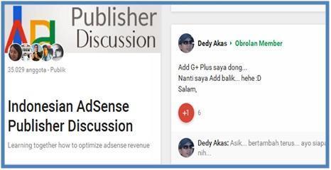 Google Plus Yang Sangat Menarik - Dedy Akas Website