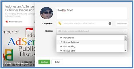 Fenomena Komunitas Indonesian AdSense Publisher Discussion - Dedy Akas Website