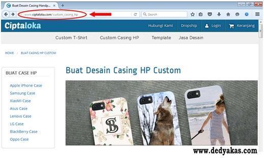 Langkah Pertama Membuat Desain Casing HP Di Ciptaloka - Dedy Akas Website