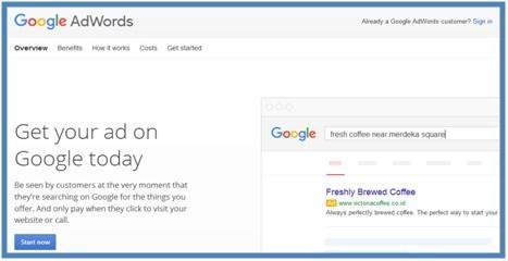 Mendaftar ke Google AdWords - Dedy Akas Website