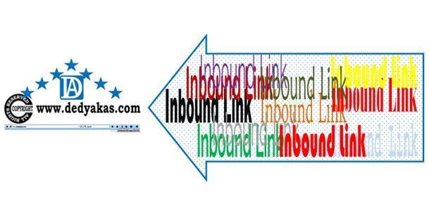 Pengertian Inbound Link - Dedy Akas Website