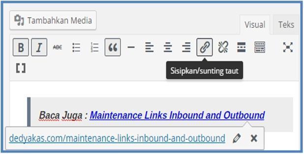 Pengertian Outbound Link - Dedy Akas Website
