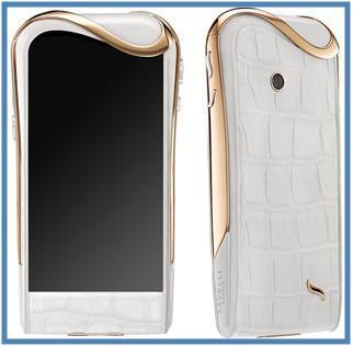 5 Handphone Termahal di Dunia - Savelli Jardin-Secret White Ice - Dedy Akas Website