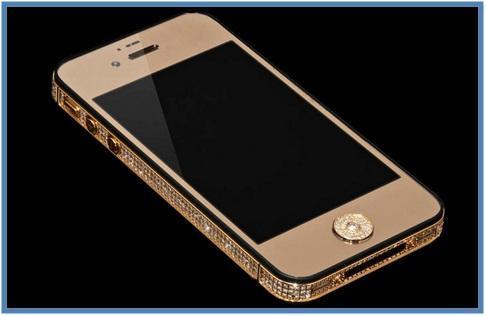 5 Handphone Termahal di Dunia - Stuart Hughes iPhone 5 Black Diamond - Dedy Akas Website