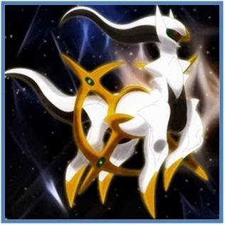 5 Nama Pokemon Terkuat - Arceus - Dedy Akas Website
