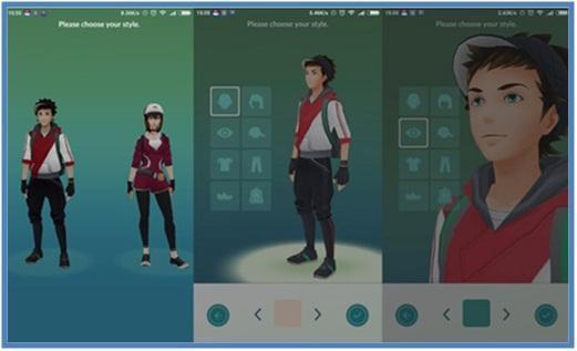 Cara Install dan Memulai Main Pokemon Go - Karakter Trainer - Dedy Akas Website
