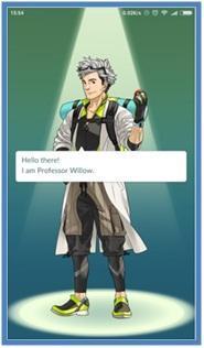 Cara Install dan Memulai Main Pokemon Go - Professor Willow - Dedy Akas Website