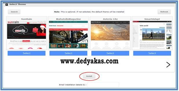 Cara Membuat Blog WordPress.org - Install - Dedy Akas Website