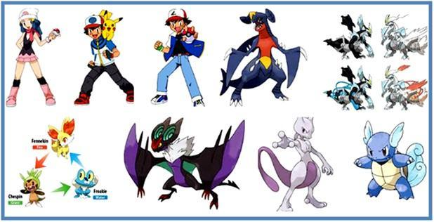 Daftar Nama Nama Pokemon Part I - Dedy Akas Website