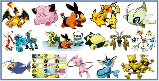 Daftar Nama Nama Pokemon Part III - Dedy Akas Website
