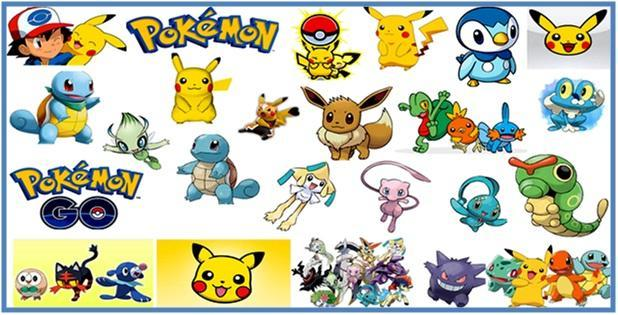 Daftar Nama Nama Pokemon Part VII - Dedy Akas Website