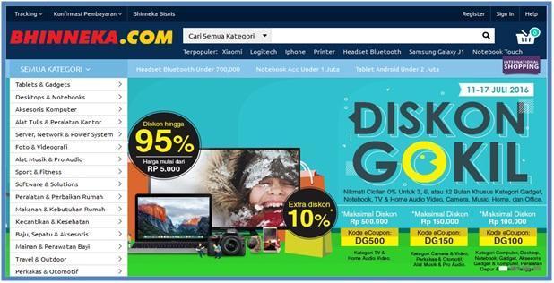 Iklan Google AdSense Bhinneka.com Mulai Merajai - Dedy Akas Website