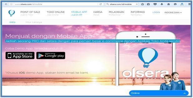 Mobile App untuk UKM - Mobile - Dedy Akas Website