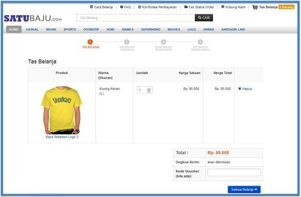 Tas Belanja - SatuBaju.com - Dedy Akas Website