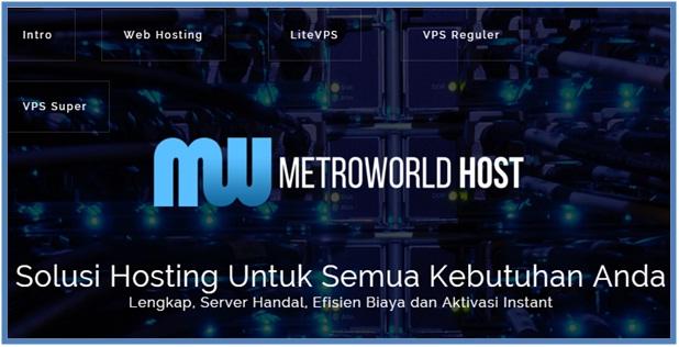 Ayo Daftar Program Sponsorship MetroworldHost Dapatkan Hosting Gratis dan Berkualitas