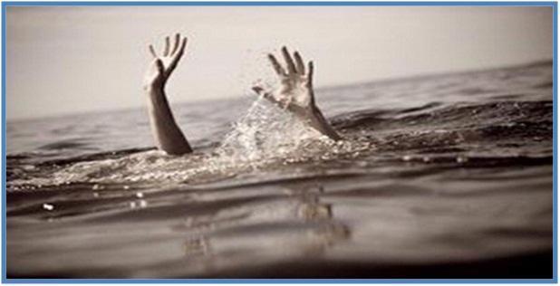 Orang tenggelam karena dia menetap disitu dan tidak menggerakkan dirinya ke tempat lain