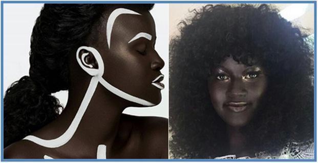 Khoudia Diop Model Kulit Gelap Mendunia - Dedy Akas Website