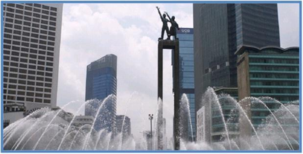 Monumen Selamat Datang Jakarta - Bundaran Hotel Indonesia