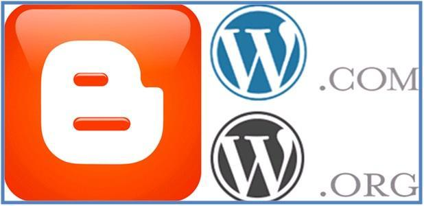 Penjelasan Blogger.com, WordPress.com, dan WordPress.org