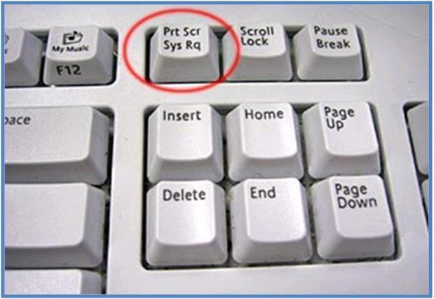 tombol pada keyboard yang bertuliskan PRINT SCREEN atau Prt Scr - Sys Rq