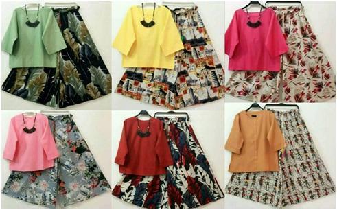 Macam Macam Model dan Warna Celana Kulot - Image by Adhy Suryadi