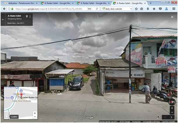 Dedy Akas Website, Street View - Jan 2017, Google Maps