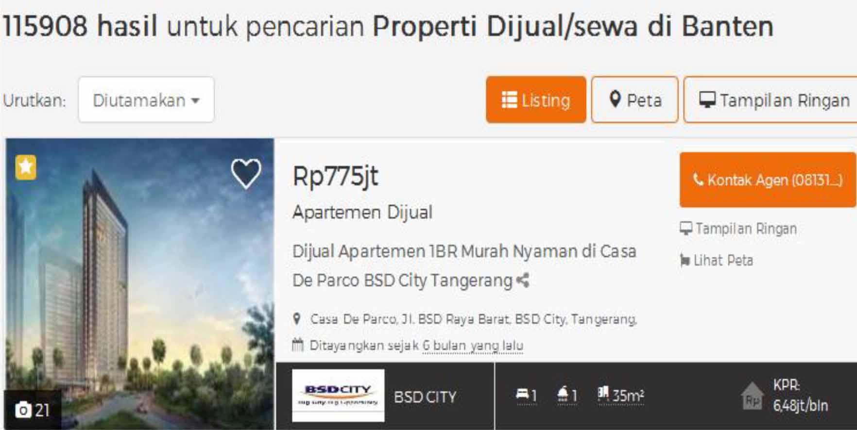 Rumah Dijual di Serang Banten