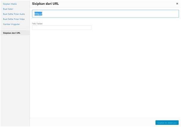 Sisipkan dari URL
