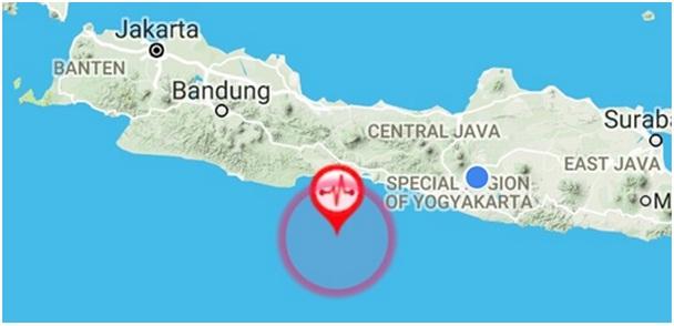 Gempa Cilacap Sebesar 5.3 SR