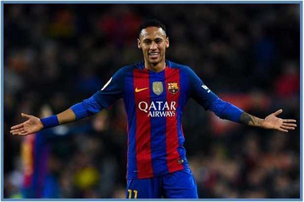 Neymar da Silva Santos Junior Rp. 3,5 Triliun