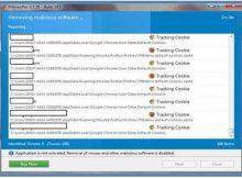HitmanPro 3.7.20 Removing Malicious