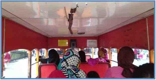 Suasana di dalam Mobil-Kereta Gerbong ke Tiga.