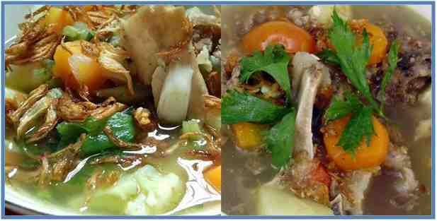 Resep Soto Daging Sapi dan Tulang Muda