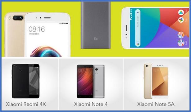 Perbandingan 3 Harga HP Xiaomi Terpopuler Dan
