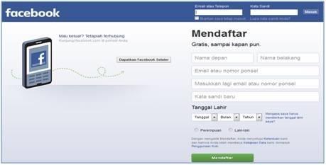 Dedy Akas Website Cara Daftar di Facebook