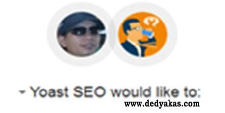 Dedy Akas Website Setting Plugin SEO Yoast