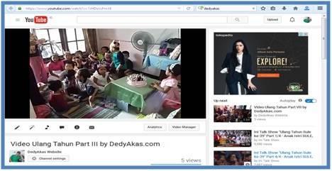 Cara Mendaftar Google Adsense Melalui Youtube - Dedy Akas Website
