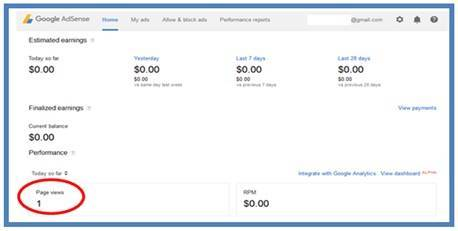 Panduan Cara Melihat Apakah DedyAkas Website Masih On di Google AdSense - Dedy Akas Website