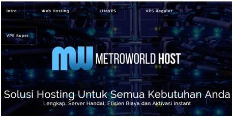MetroworldHost Membuka Program Sponsporship - Dedy Akas Website